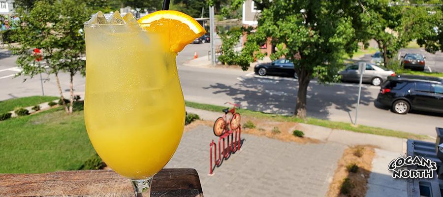 Sunshine Cider, beer cocktail of the week