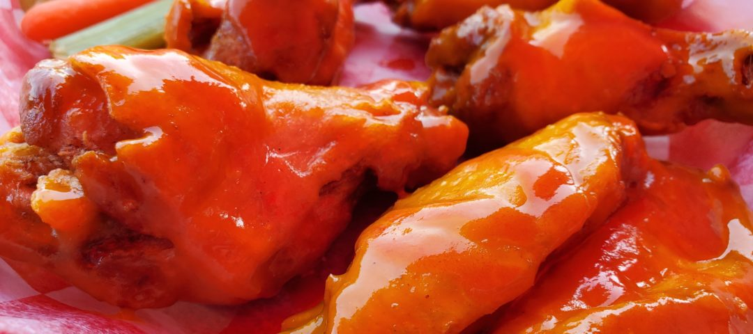 Sriracha Gold, wing sauce of the month