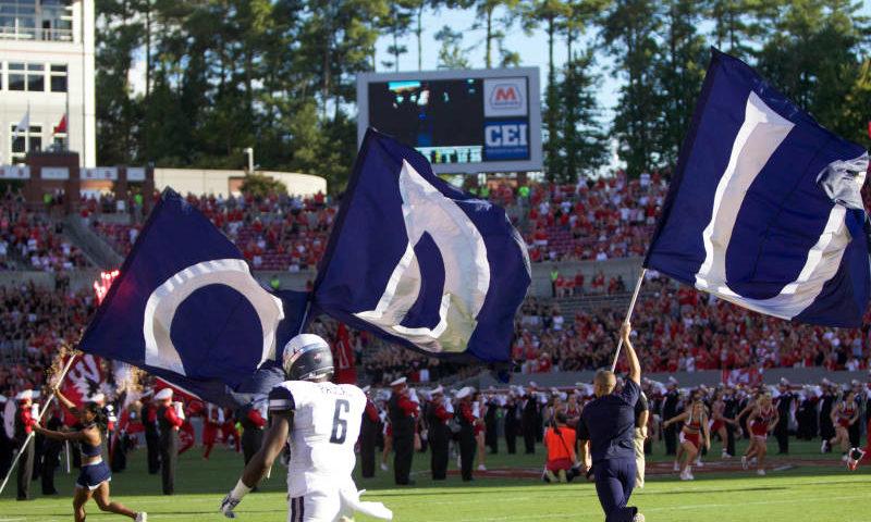 ODU football flag corps