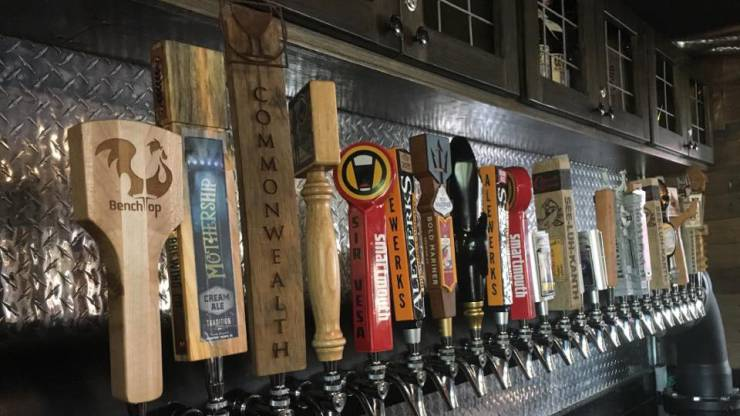 Nothing But The Best, Local Breweries For Our Taps