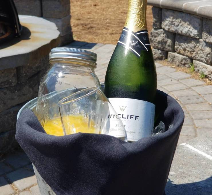 Mimosa Buckets with your name on them