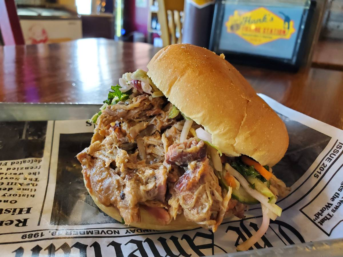 Hank's BBQ Sandwich