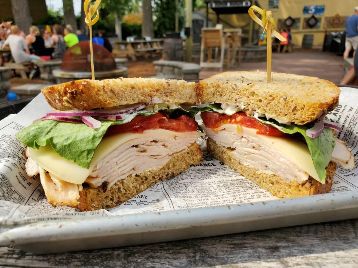 Smoked Turkey & Cheese Sandwich