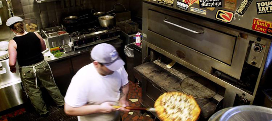 The punk-rock pizza shop with cheap beer and equally cheap slices