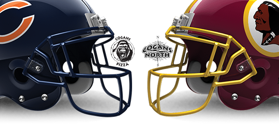 Bears vs. Redskins @ Cogans Tonight!