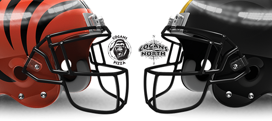 Bengals vs. Steelers @ Cogans Tonight!