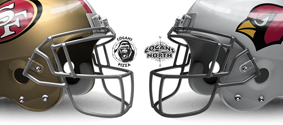 49ers vs Cardinals Tonight @ Cogans!