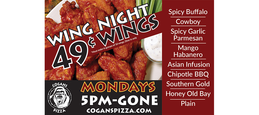 It's Wing Night! It's Wing Night! It's Wing Night!