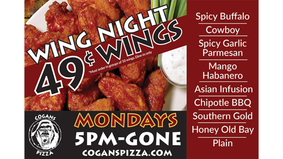 Your 49 cent wings are waiting for you