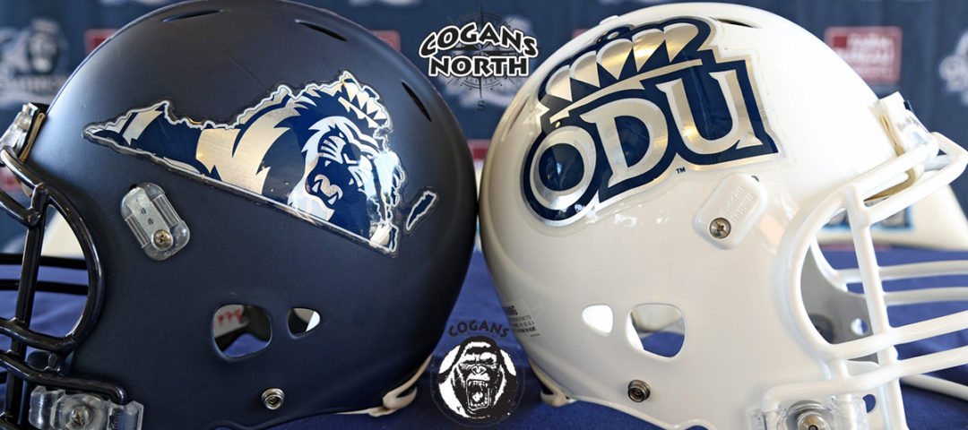 ODU football helmets