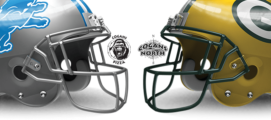 Lions vs Packers Tonight @ Cogans!