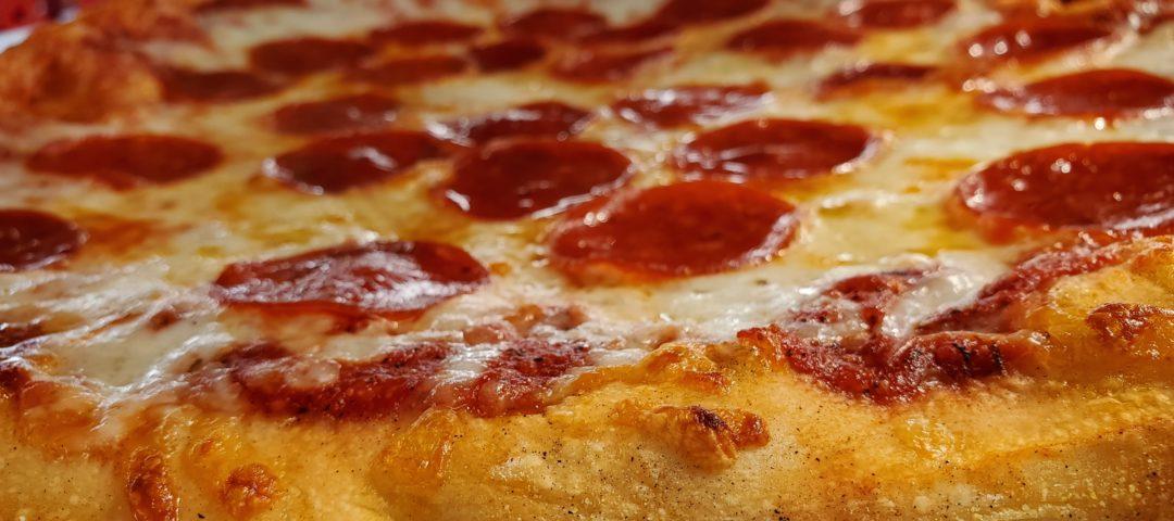Cogans pepperoni pizza