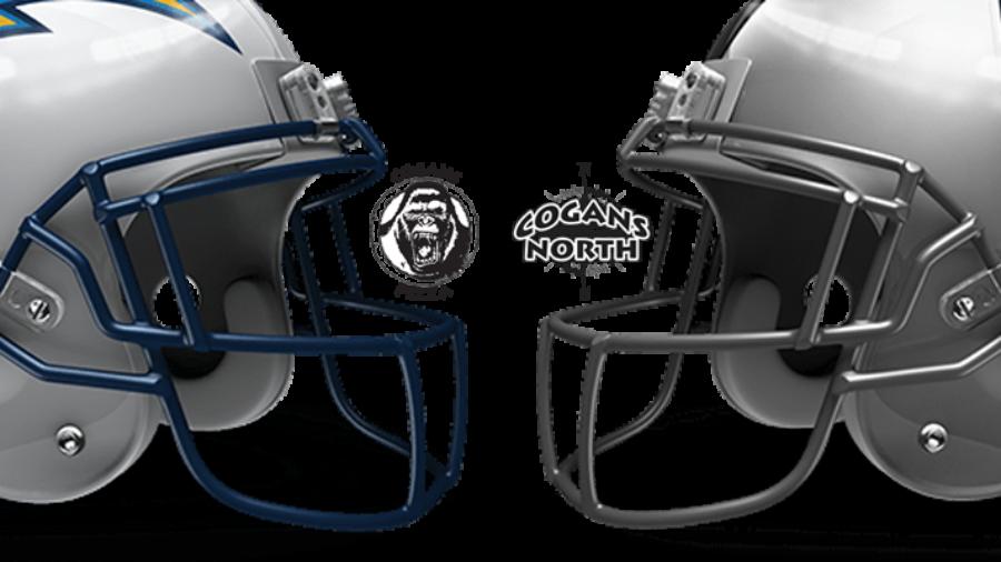 Chargers vs Raiders Tomorrow @ Cogans!