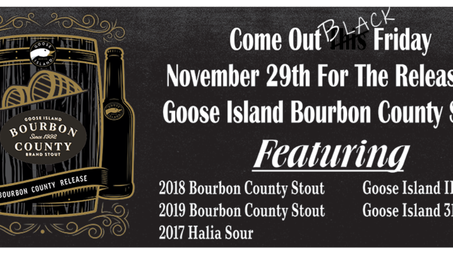 Tappin' Goose Island Today!