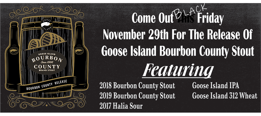 Goose Island release