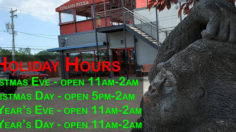Cogans Holiday Hours