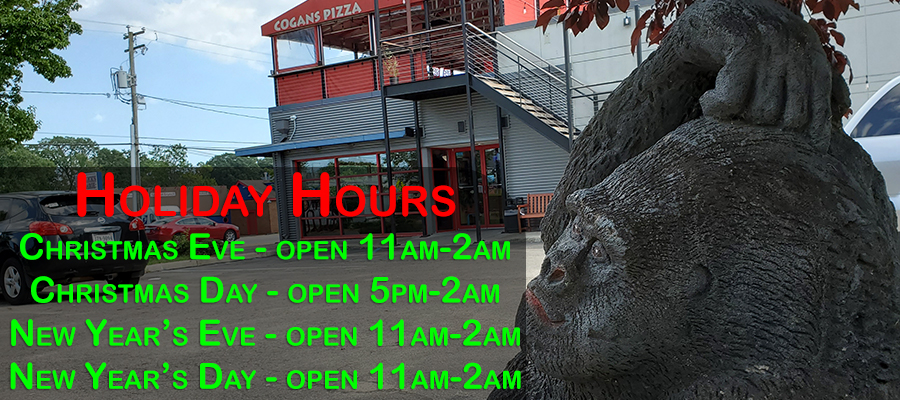 2019-20 Holiday Hours