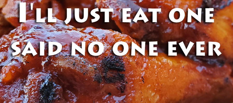 I'll just eat one (wing), said no one ever
