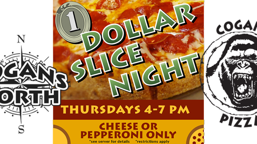 Wait no more … we have your dollar slices tonight