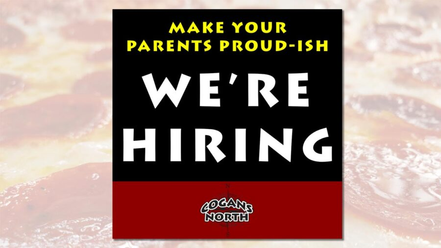 We're looking for prep, pizza, and sauté cooks