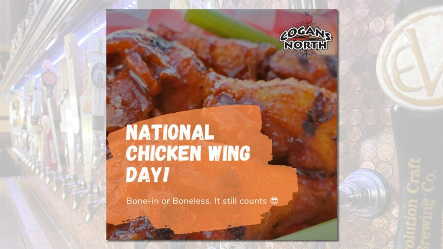 It's time to celebrate National Chicken Wing Day