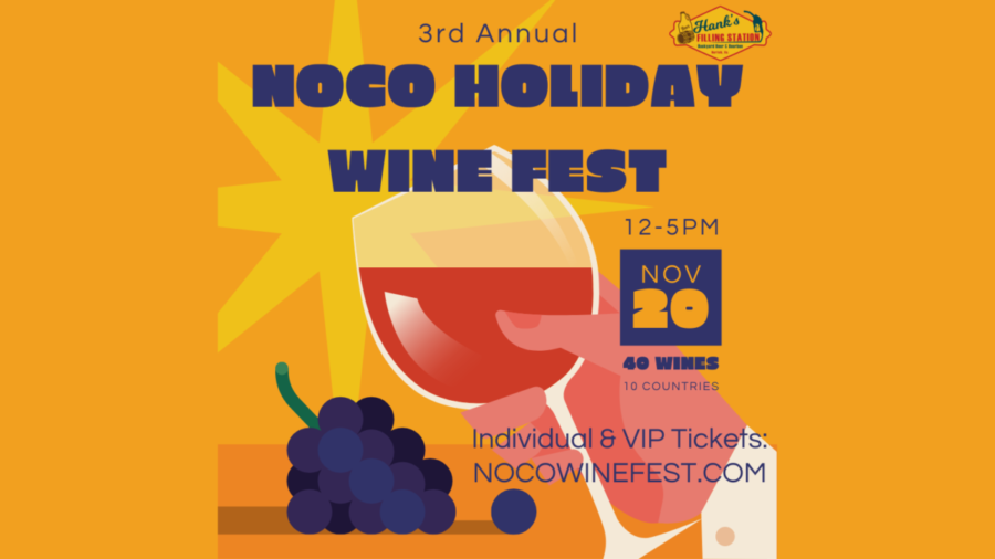 3rd Annual NoCo Holiday Wine Fest tickets are available