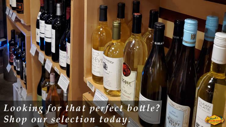 Hank's Wine Selection