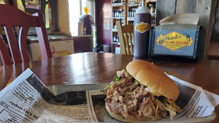 Hank's Carolina BBQ – a pile of heaven