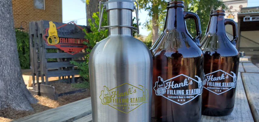 Hank's Growler for the Holidays