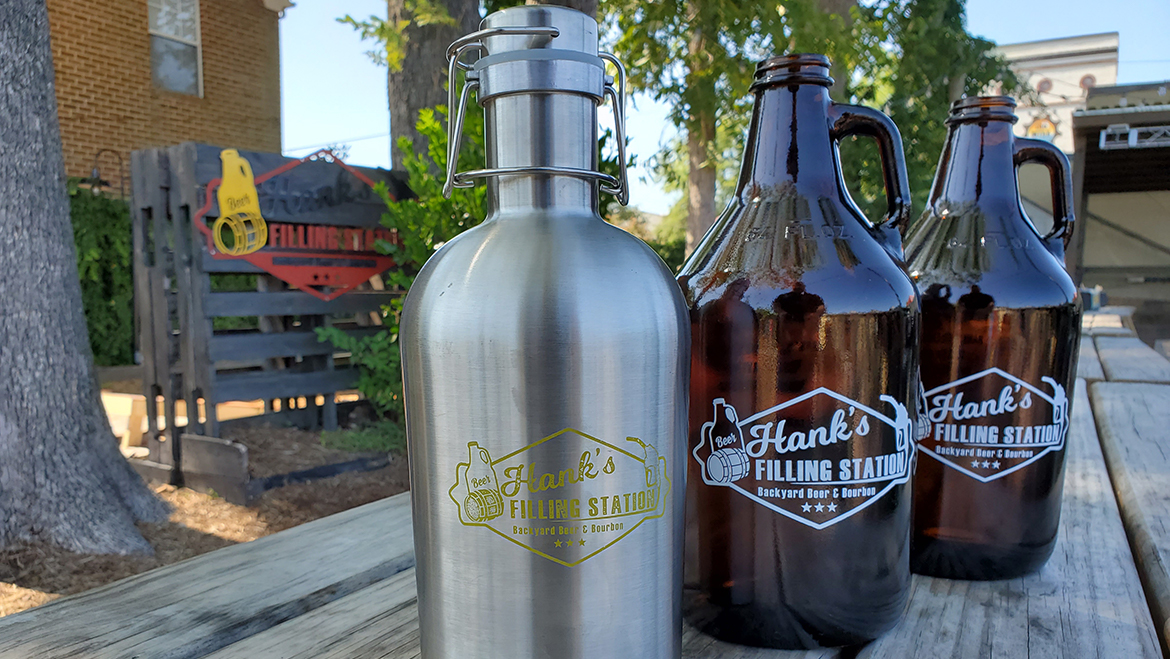 Have you grabbed your Hank's Growler?