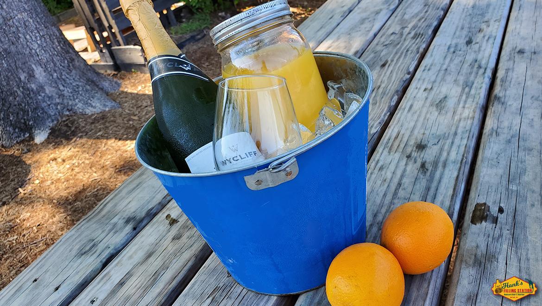 Hank's Sunday Relaxer: Mimosa Buckets