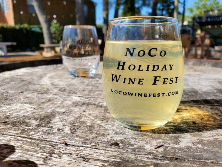 NoCo Holiday Wine Fest is today!