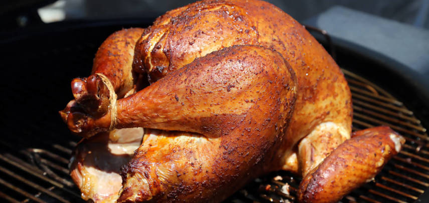 Whole Smoked Turkey for the Holidays