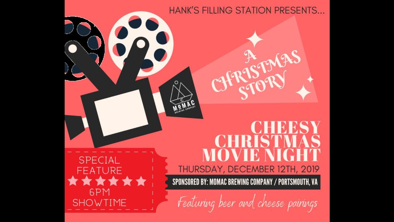 Cheesy Christmas Movie Night with Momac