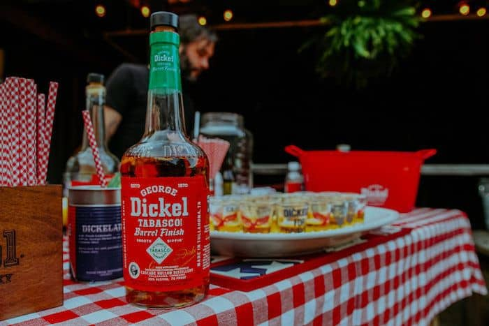 Dickel Tabasco Tennessee Whisky Tasting