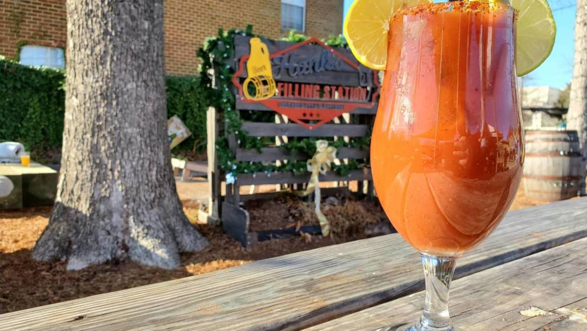 Hogs For Hope Today on National Bloody Mary Day