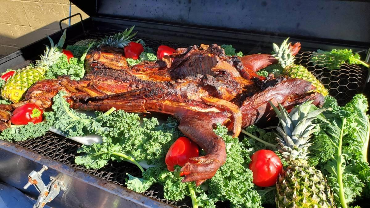 Hank's pig roast