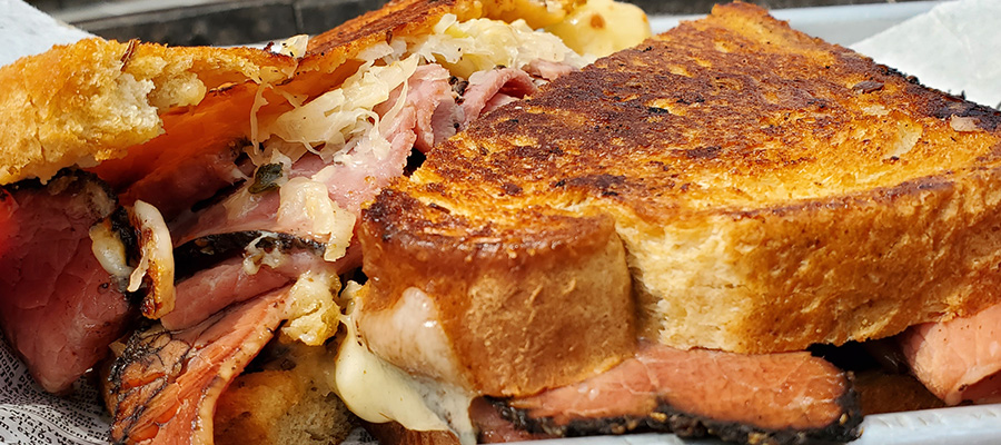 You could make oodles of noodles, or you could have a Hank's Pastrami Reuben!