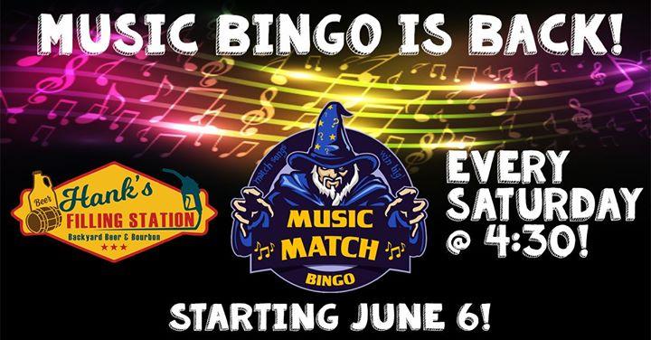 Music Bingo is Back at Hanks Filling Station!