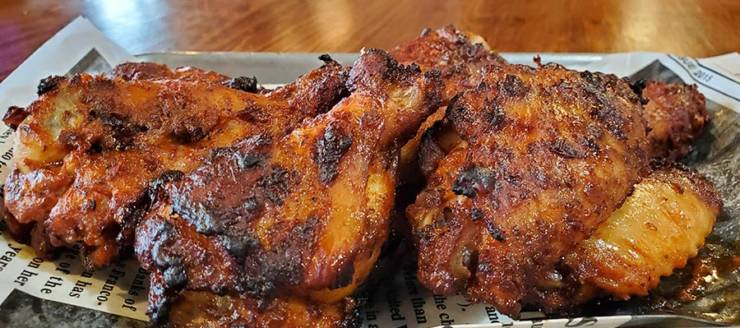 Break up your 4-day work week with badass wings