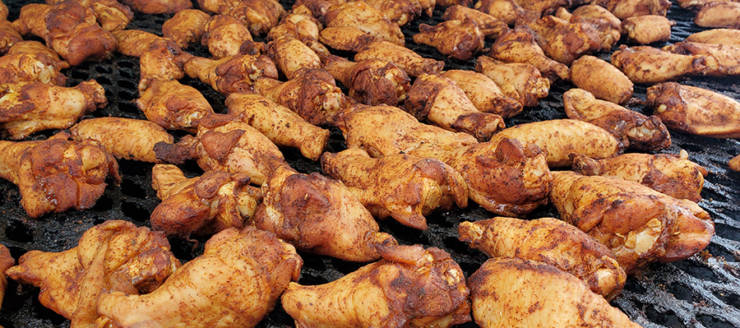 Oh so good smoked wings!