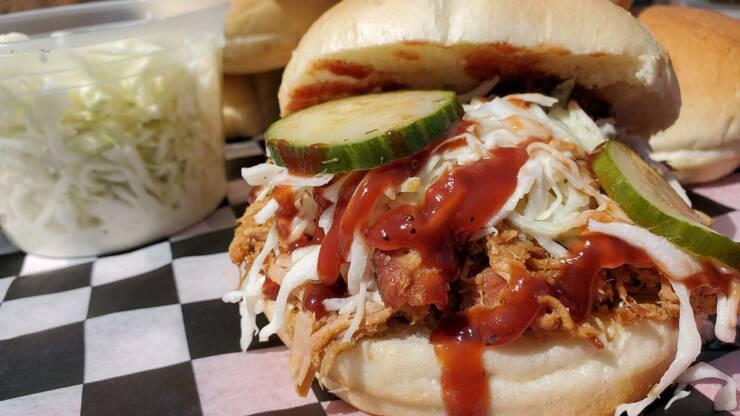 Today's Treat: Hank's BBQ Sandwich