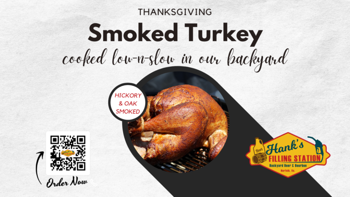 Order your Thanksgiving Smoked Turkey today!