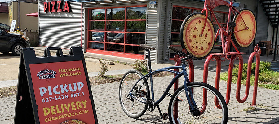 We have fresh air 🚲 and pizza 🍕 for you today