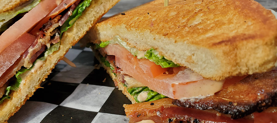 A BLT that will knock your socks off
