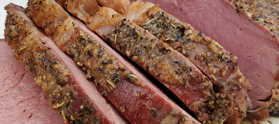 We're smoking Prime Rib today. You stoppin' by?