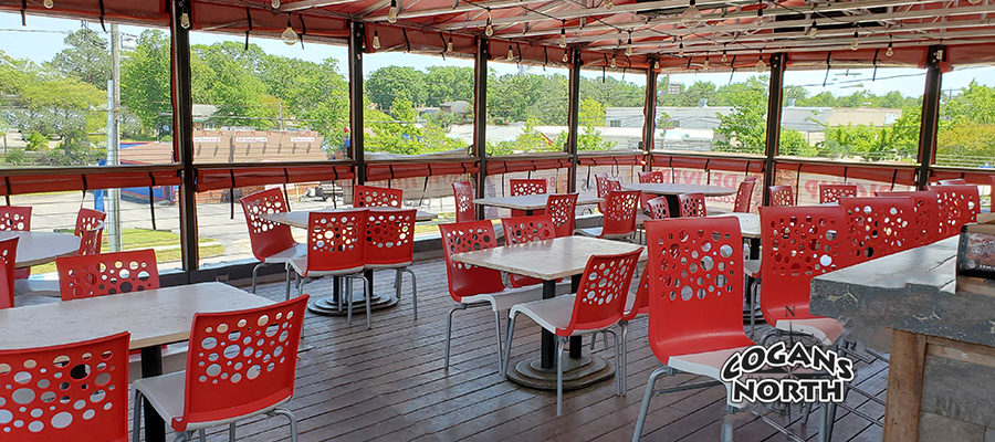 Have you visited our Covered Patio with a View?