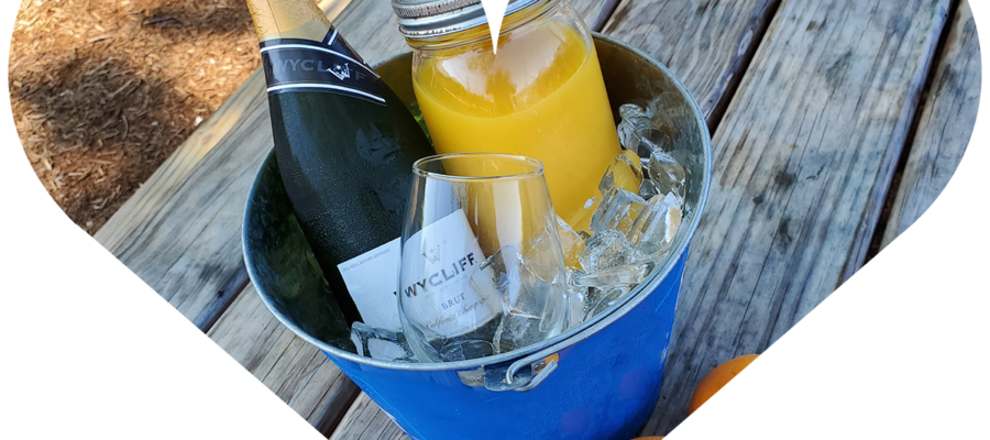 Sundays are made for Mimosa Buckets