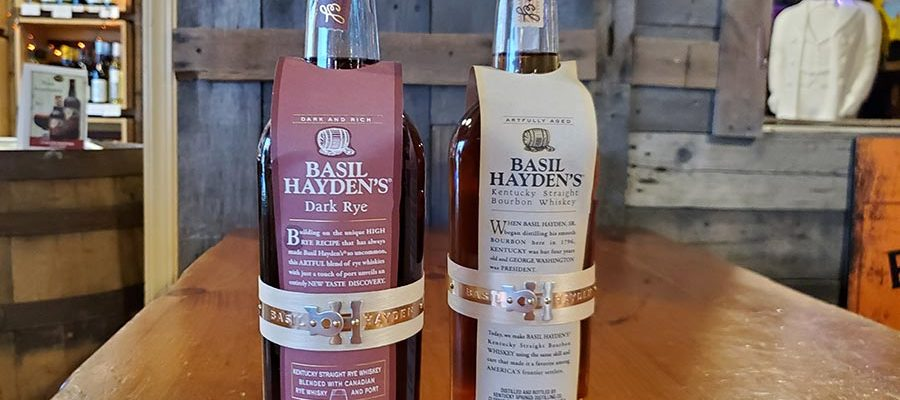 Grab a Basil Hayden's for Dad