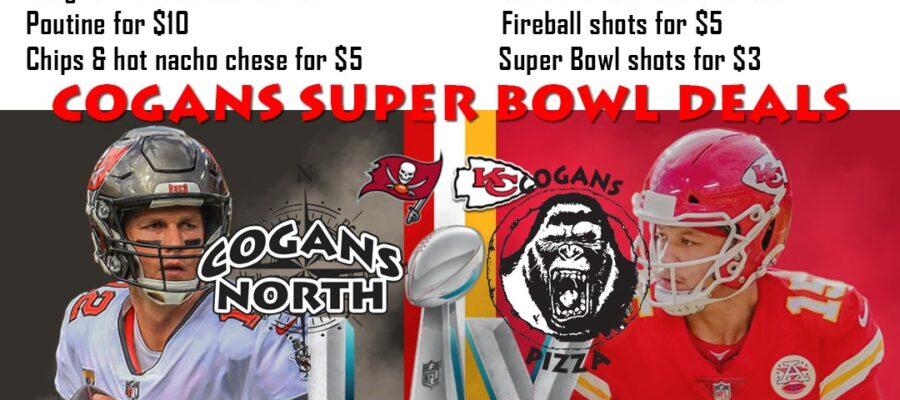 Super Bowl Pre-order Pickup @ Cogans
